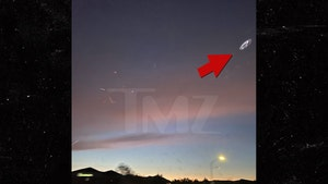 Clear Shots of 'UFO' Spotted Above Freeway on Outskirts of Los Angeles