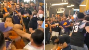 Suns And Clippers Fans Throw Wild Haymakers In Violent Brawl Caught On Video