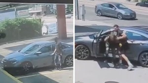 UFC's Jordan Williams Beats The Hell Out Of Alleged Carjacker In Wild Video