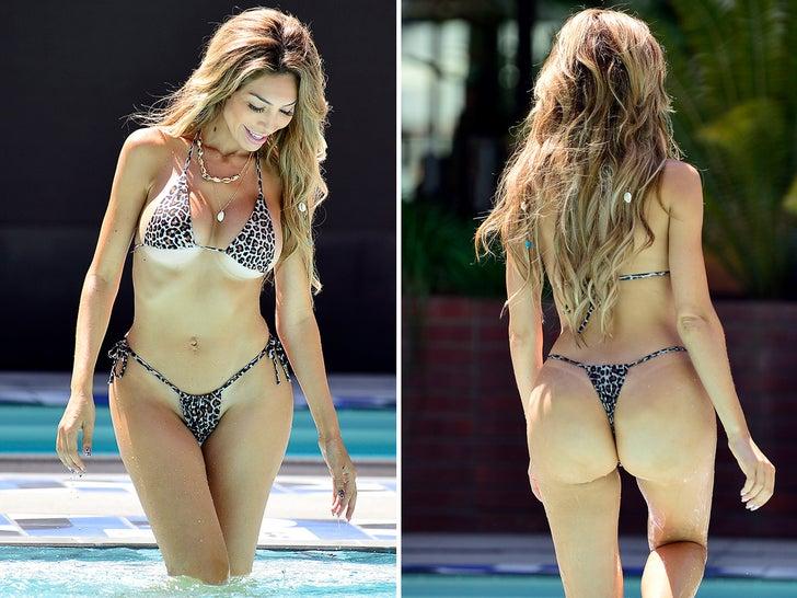 Farrah Abraham's Booty-full Leopard Bikini -- Spot On!