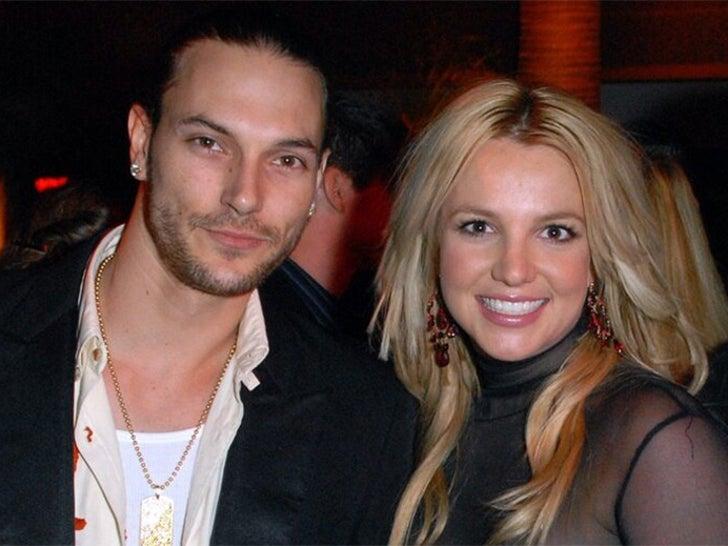 Britney Spears And Kevin Federline -- Together Photos