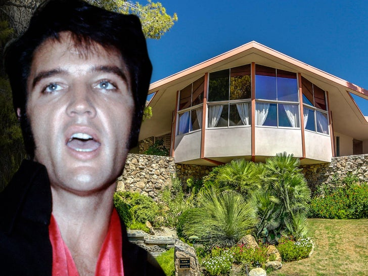 Elvis Presley's Palm Springs House -- For $ALE!