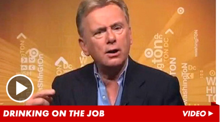Pat Sajak -- I Was Drunk on 'Wheel of Fortune'