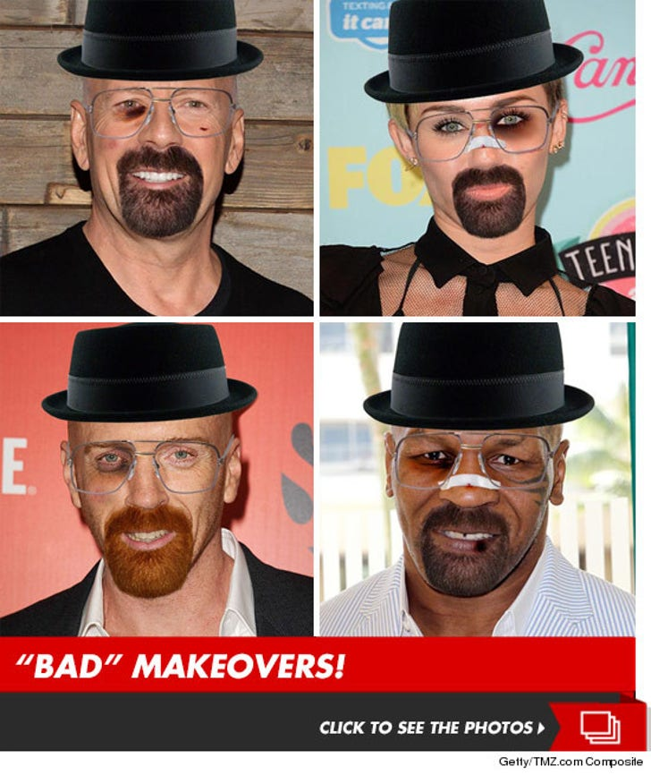 Stars 'Breaking Bad' -- Fresh Batch of Heisenbergs
