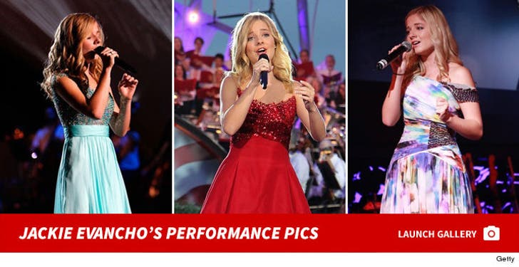 Jackie Evancho's Performance Photos
