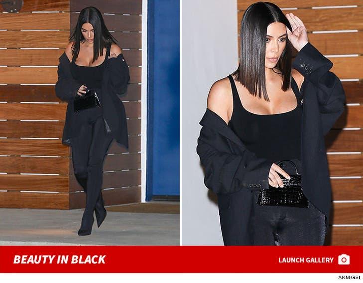 Kim K - Beauty In Black