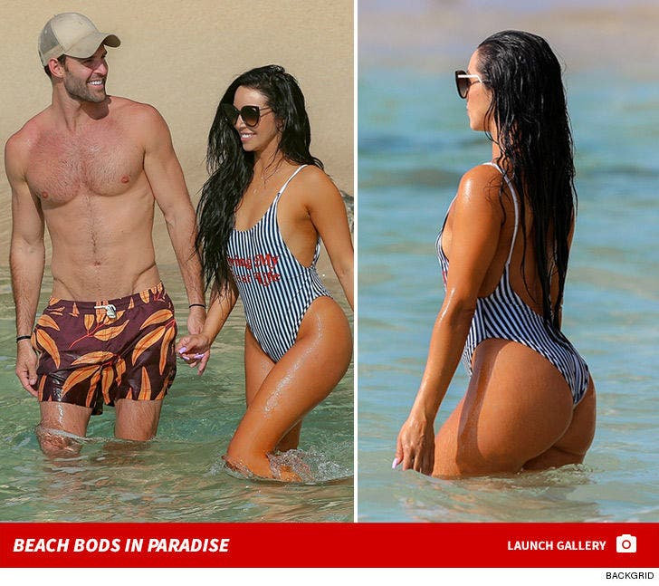 Robby Hayes and Scheana Marie -- Beach Bods in Paradise