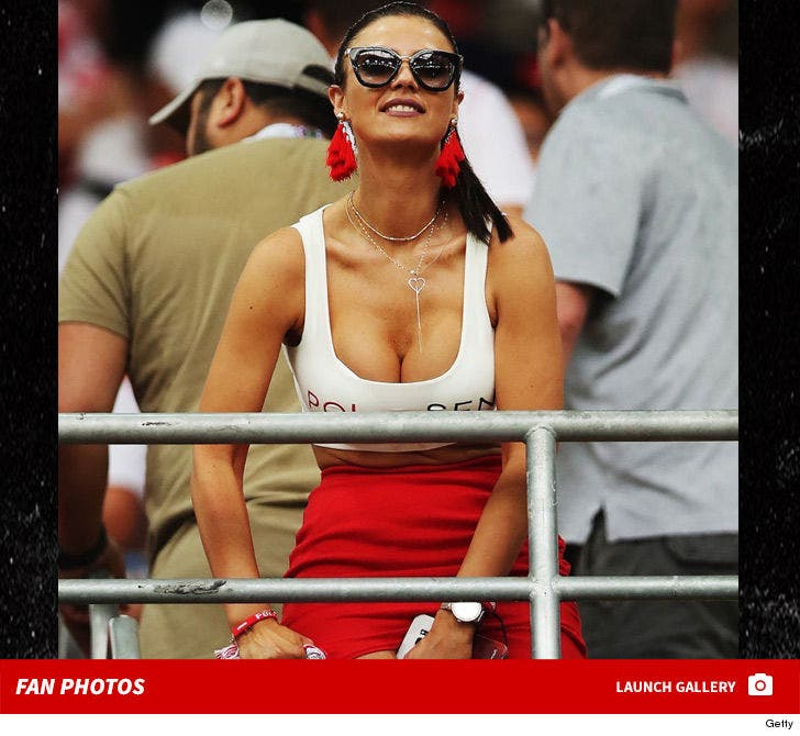 Poland's Hot World Cup Fan