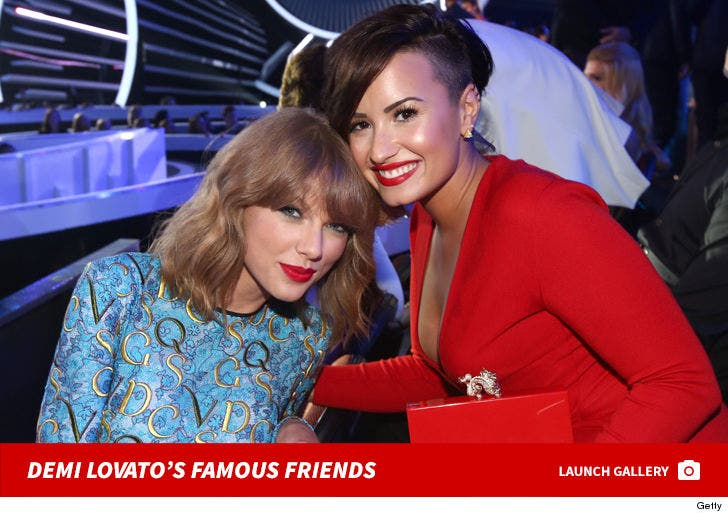 Demi Lovato's Famous Friends