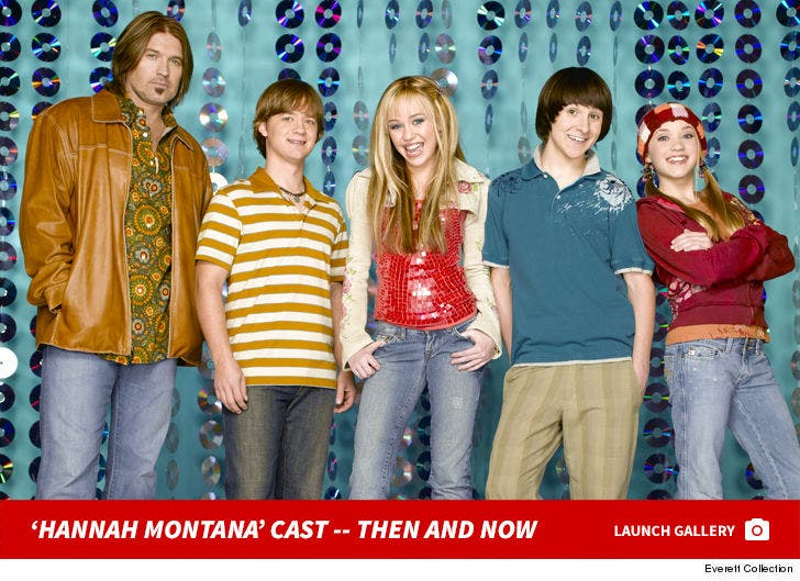 'Hannah Montana' Cast -- Then And Now