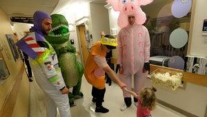 Boston Bruins Stars Throw 'Toy Story' Halloween Party at Boston Children's Hospital