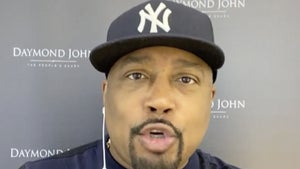 Daymond John Says Pro Sports on TV Should Show Fans Cheering at Home