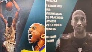 Philadelphia Eagles Paint Kobe Bryant Mural At Practice Facility, 'Kobe's 10 Rules'