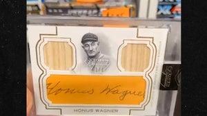Rob Kardashian Strikes Again, Pulls Rare Honus Wagner Autograph Baseball Card!