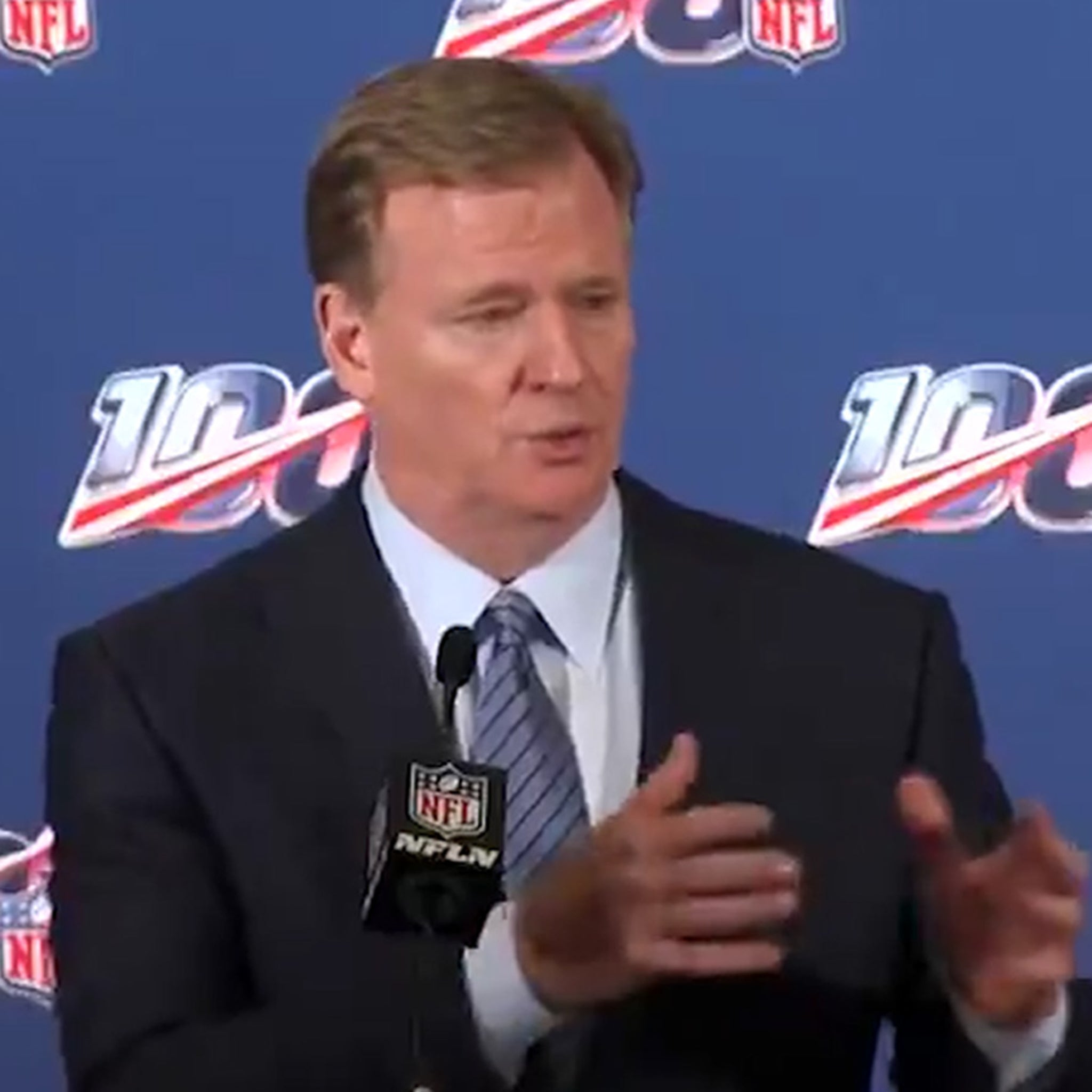 Roger Goodell Says NFL Conducting 'Thorough' Investigation Into Patriots