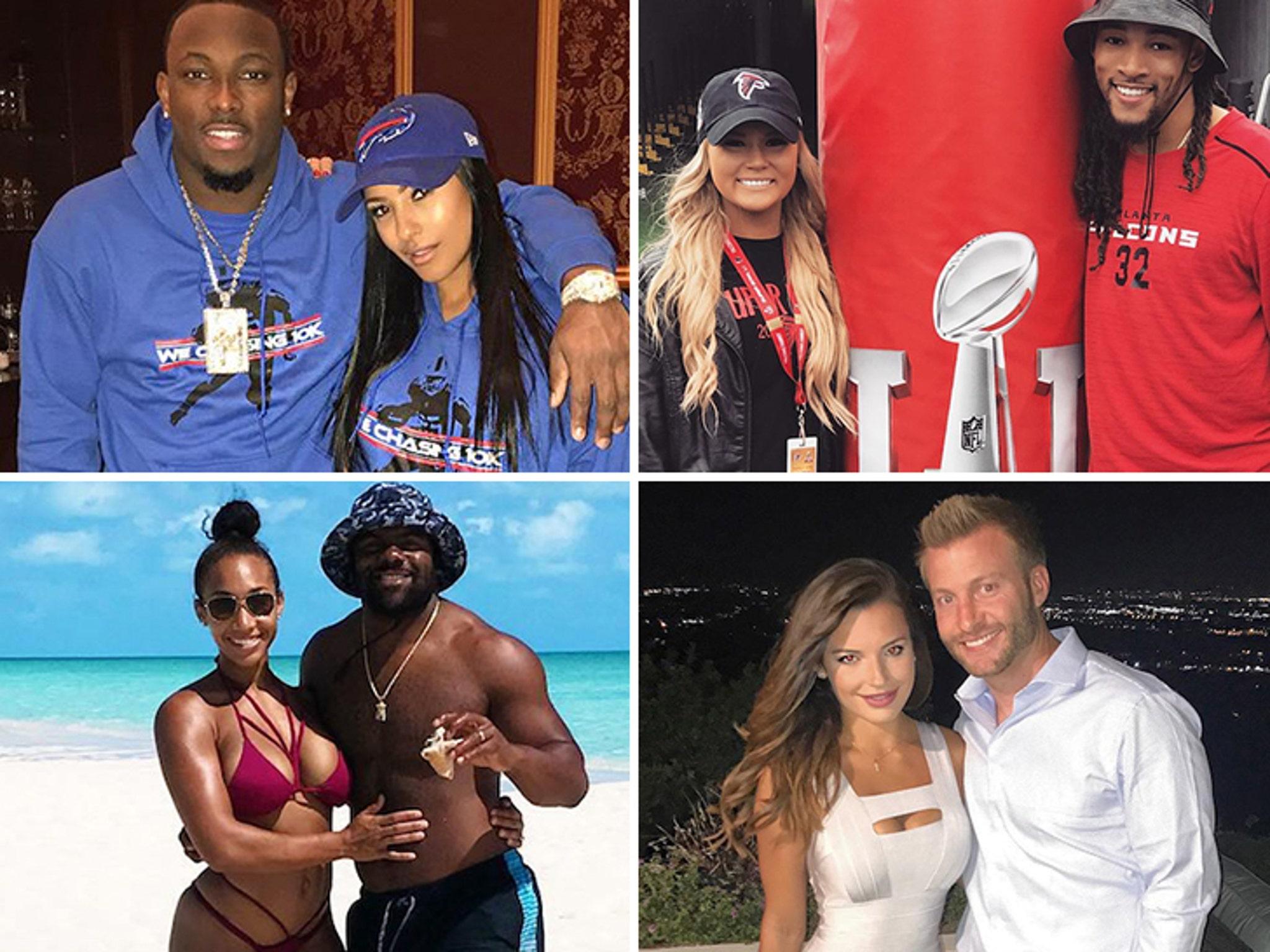 Meet the Smokin' Hot WAGS of NFL Wild Card Weekend