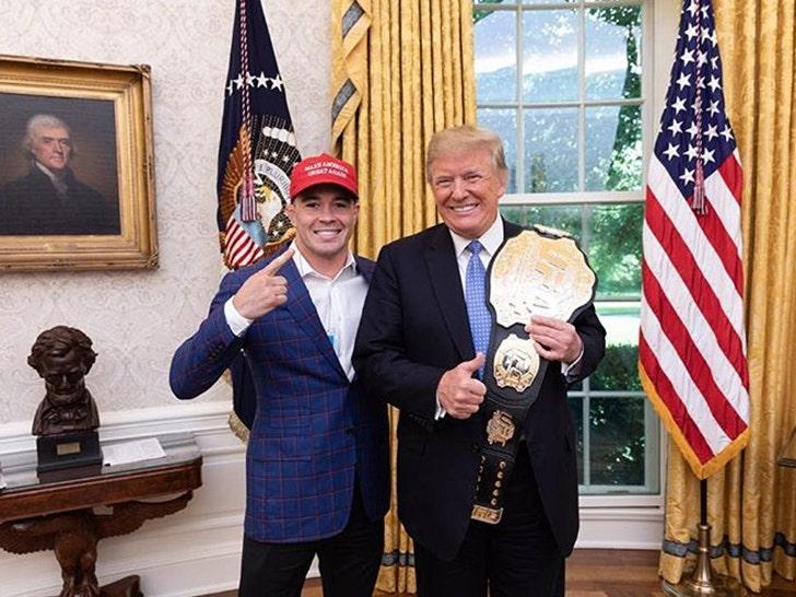 Donald Trump Jr Eric Trump To Attend UFC Fight Night Newark