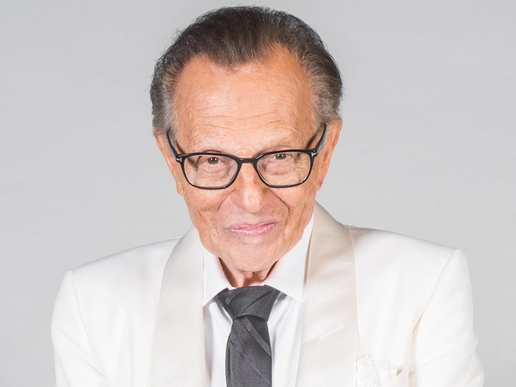 Larry King -- Through The Years