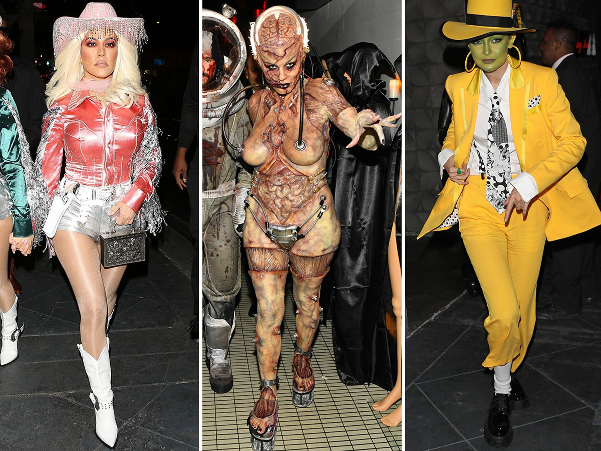 Heidi Klum Halloween Bash 2020.Heidi Klum Reveals Costume As Celebs Go All Out For Halloween