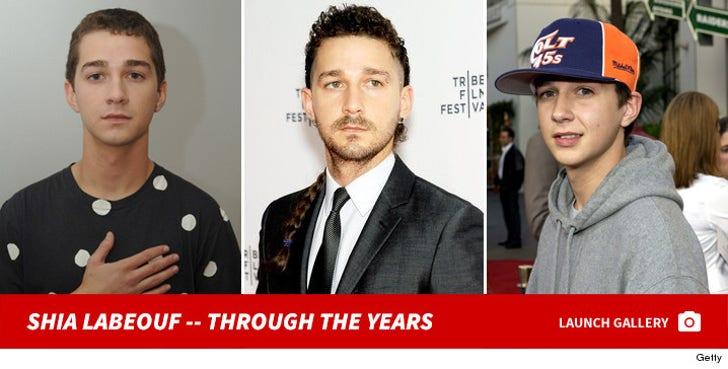 Shia LaBeouf -- Through the Years
