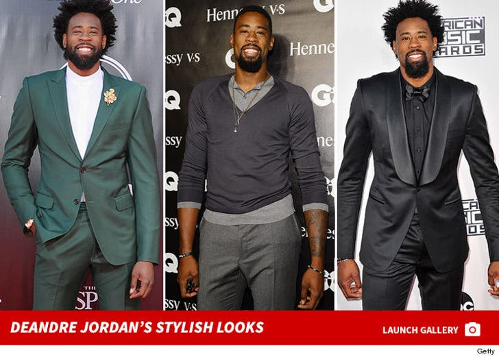 DeAndre Jordan's Stylish Looks