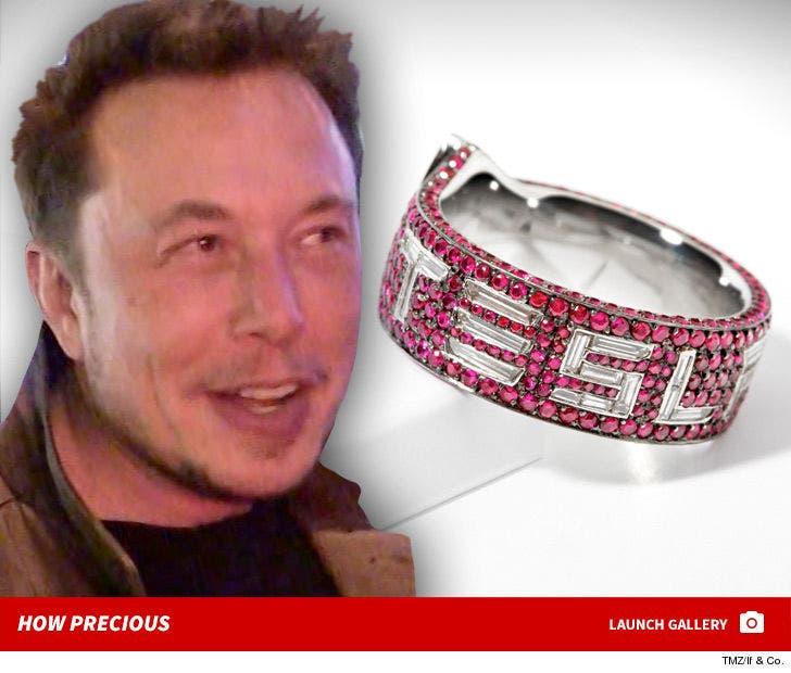 Elon Musk's Tesla Ring