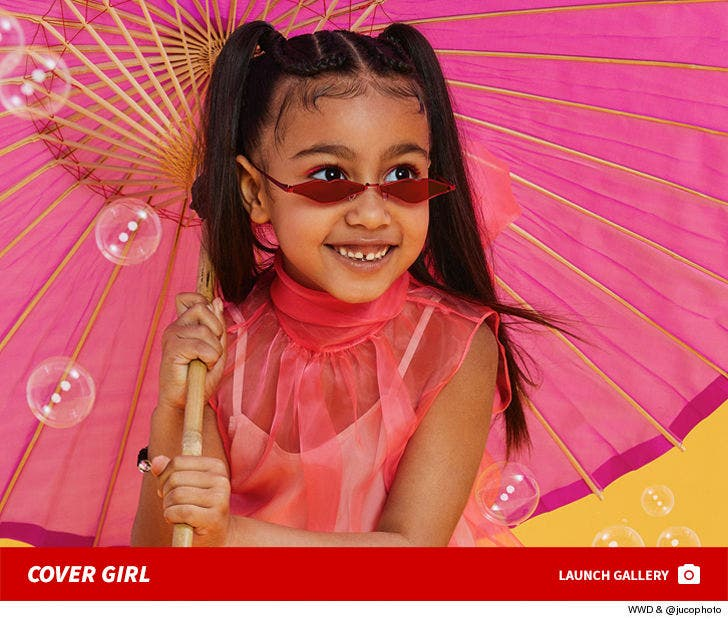 North West's First Magazine Cover