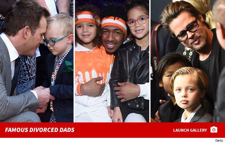 Famous Divorced Dads