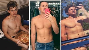 Charlie Puth's Shirtless Shots