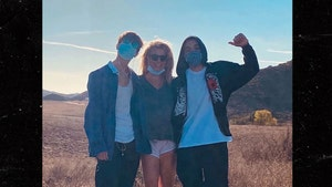Britney Spears Posts Photo with Her Teenage Sons