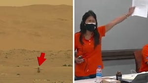 NASA Completes First Powered Flight on Mars with Mini Helicopter