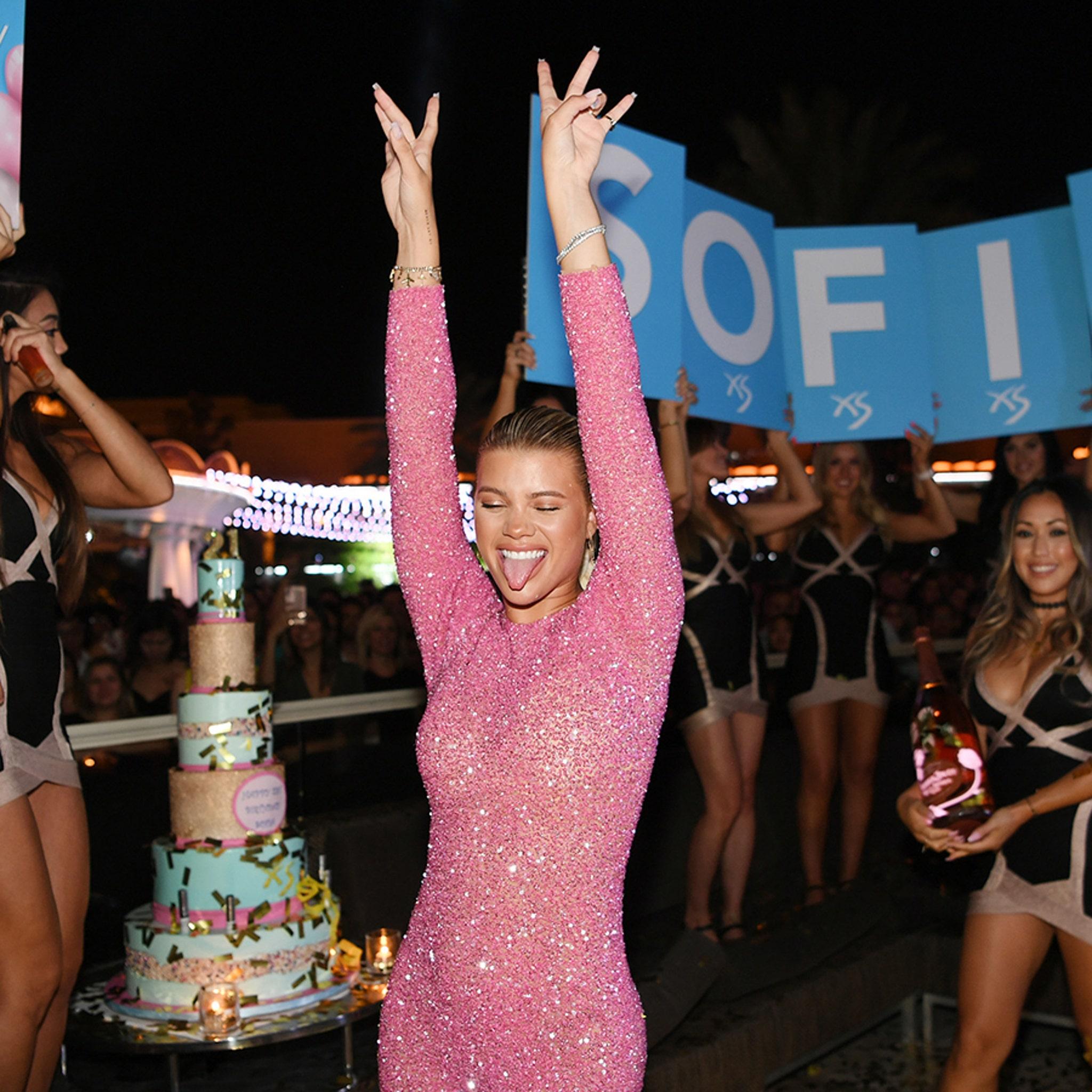Sofia Richie Celebrates 21st Birthday in Las Vegas