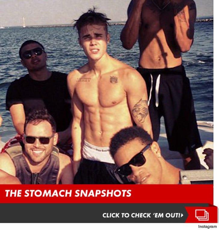 Justin Bieber -- Caught in a Ripped Tide