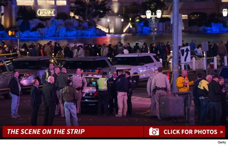 Las Vegas Crash -- The Scene on the Strip