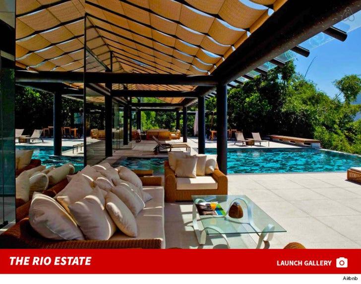 Zendaya's Brazilian Airbnb