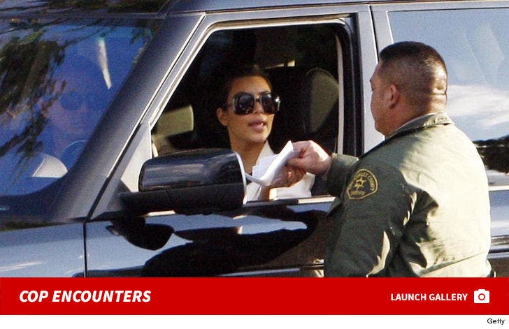 Celebrity Cop Encounters