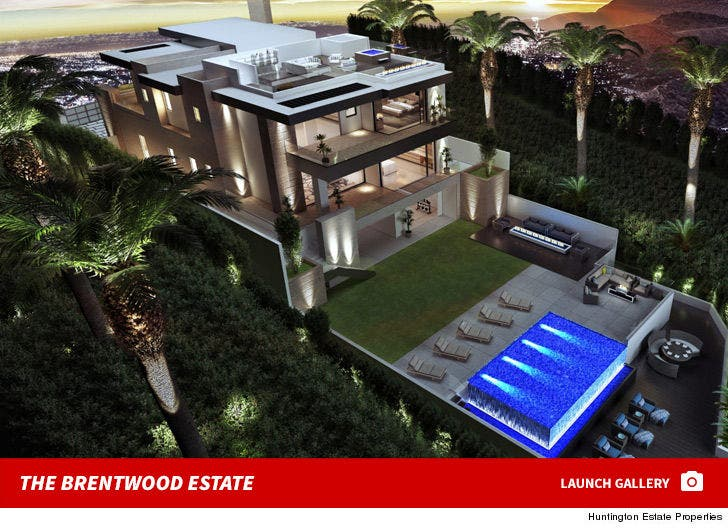 Justin Bieber Brentwood House
