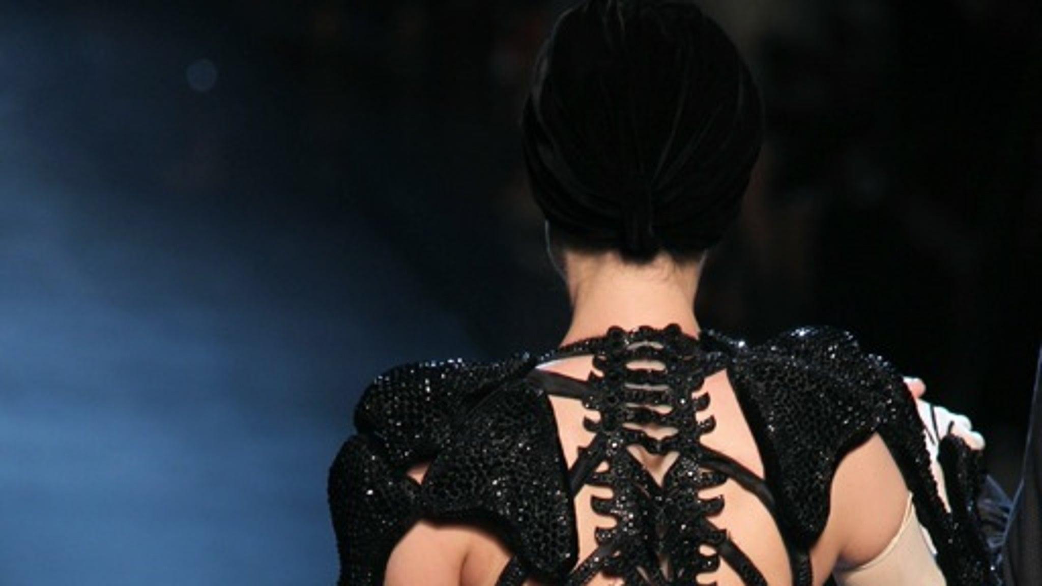 Dita Von Teese In Sexy Black Lace -- Happy Black Friday-7736