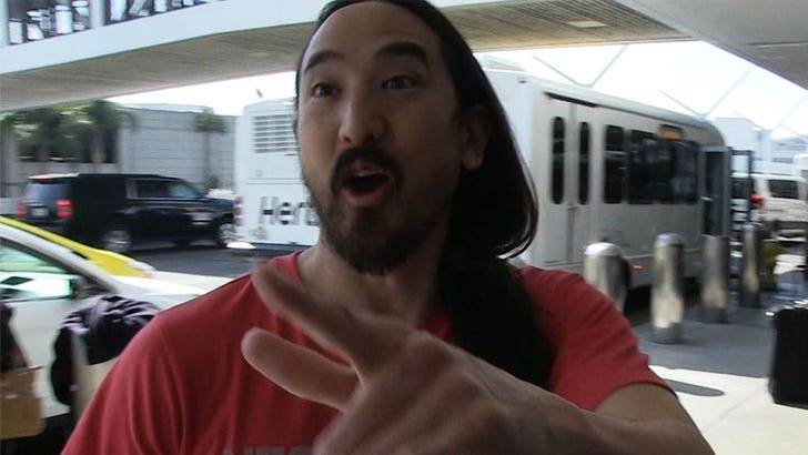 Steve Aoki is Stoked 'Waste It On Me' with BTS Hit No  1 in