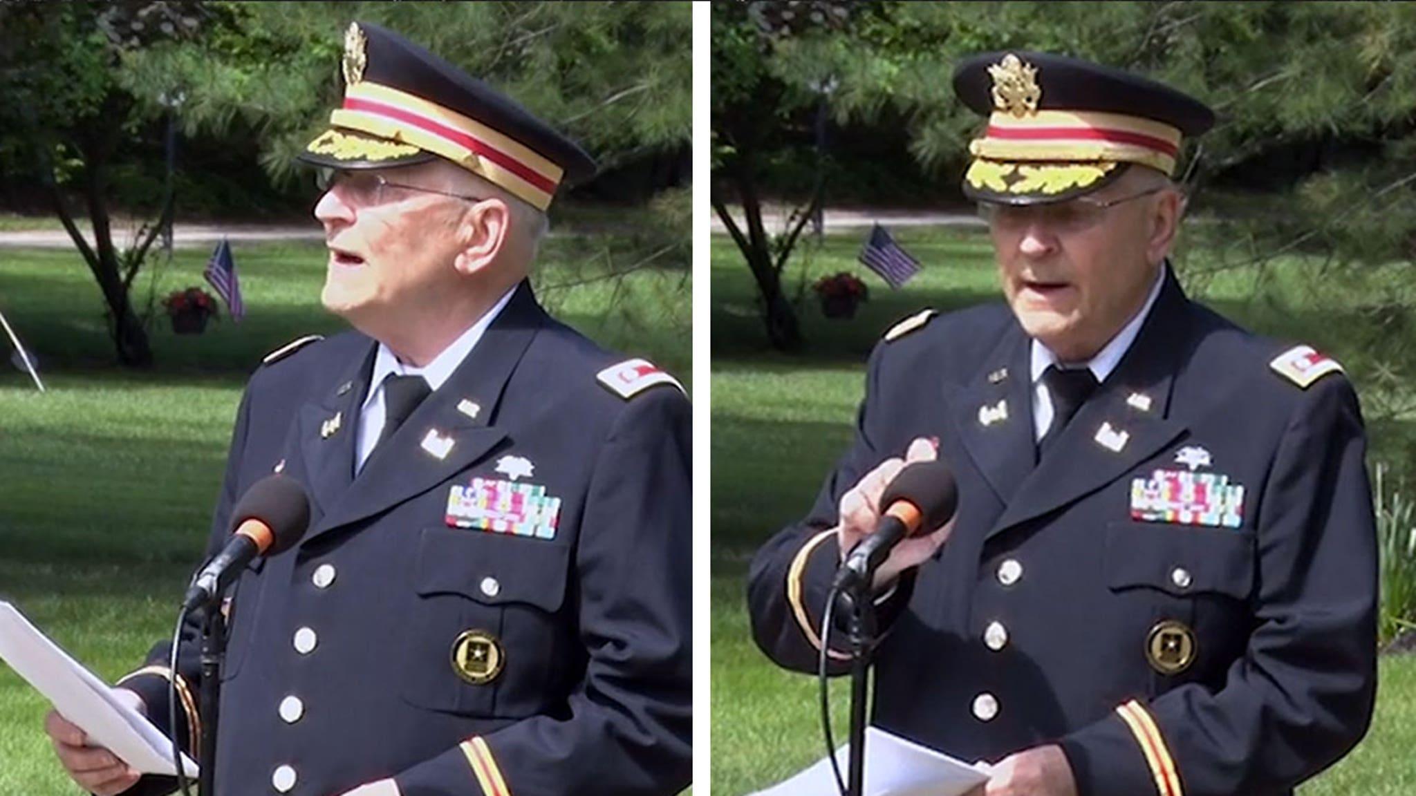Veteran's Mic Cut During Black History Speech, Sparks Call for Resignations thumbnail