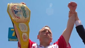 Joey Chestnut's World Record 76 Hot Dogs Eclipsed by ESPN Screw-Up