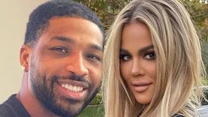 Tristan Thompson Praises Khloe Kardashian's Bod, 'Abs Of Steel!'