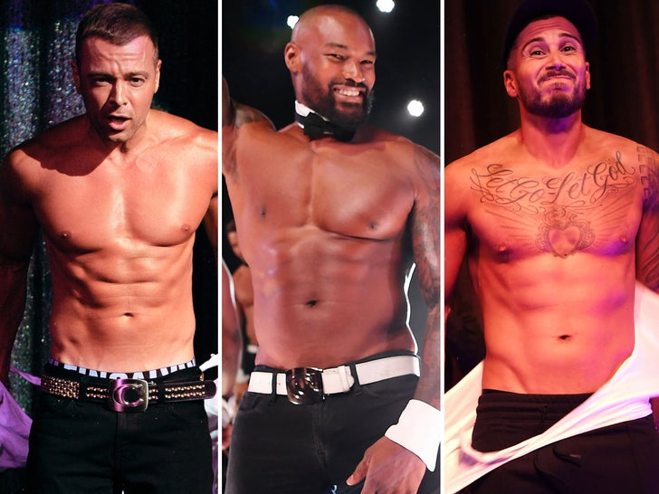 Celebrity Chippendales Dancers