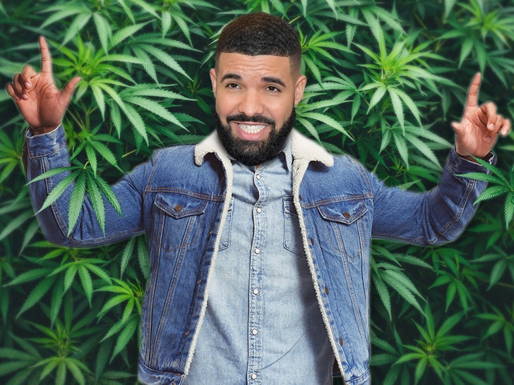 Drake Getting into Weed Biz and Wants to Trademark Tons of Products