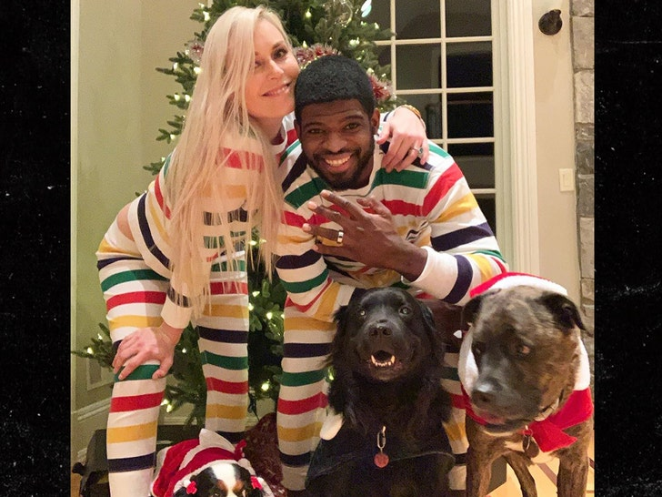 Lindsey Vonn Proposes to P.K. Subban for 2 Year Anniversary