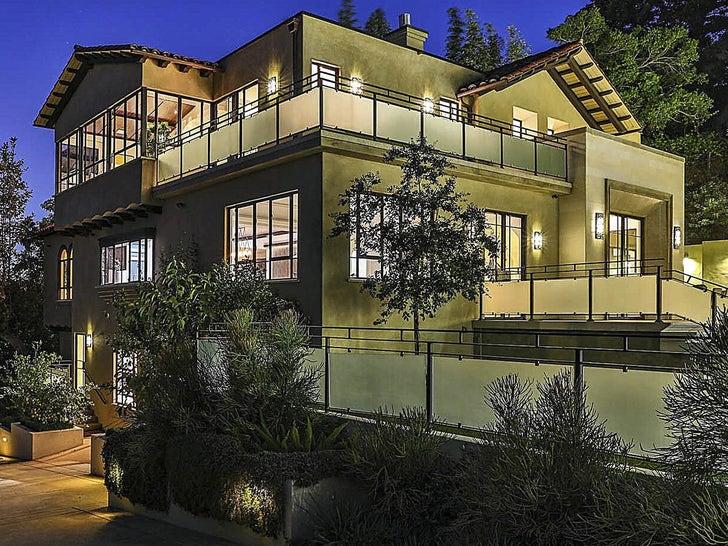 Rihanna's Hollywood Hills House