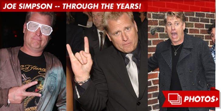 Joe Simpson -- Through the Years!