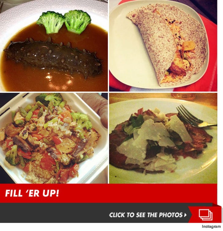 Celeb Food Porn Pics -- Guess Who's Eating That!