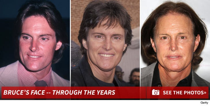Bruce Jenner -- Through The Years