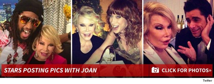 Stars Posting Pics With Joan Rivers